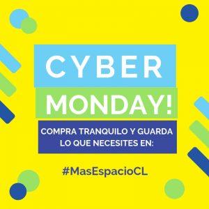 Aprovecha el evento del año Cyber Monday y guarda lo que necesites en Mas Espacio